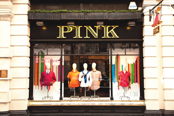 upscale clothing stores british shirtmaker thomas pink which opened