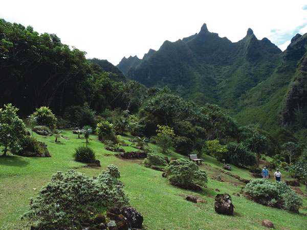 Limahuli view landscape