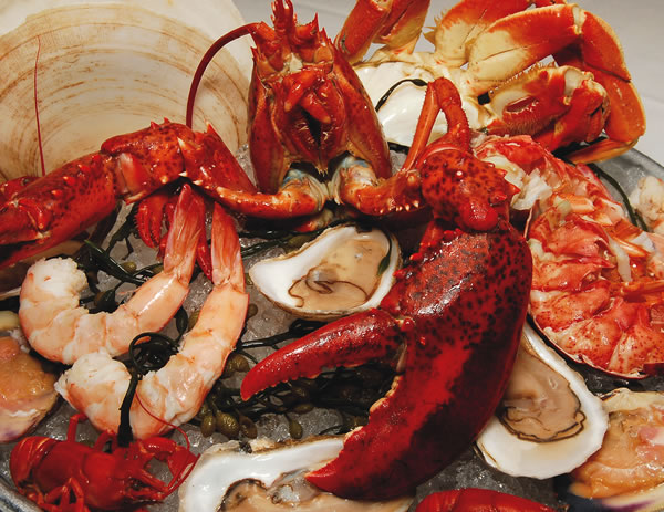 Farallon Royal Shellfish Platter