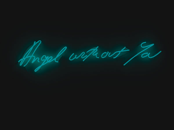 BH- Tracey Emin, Angel without You, 2012, (c) the artist, Courtesy White Cube