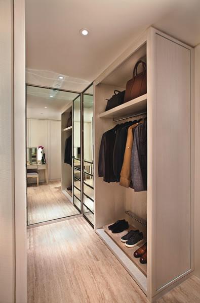 Men's curated closet