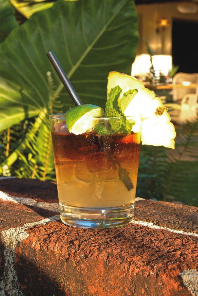 Mai tai from Mahiko Lounge
