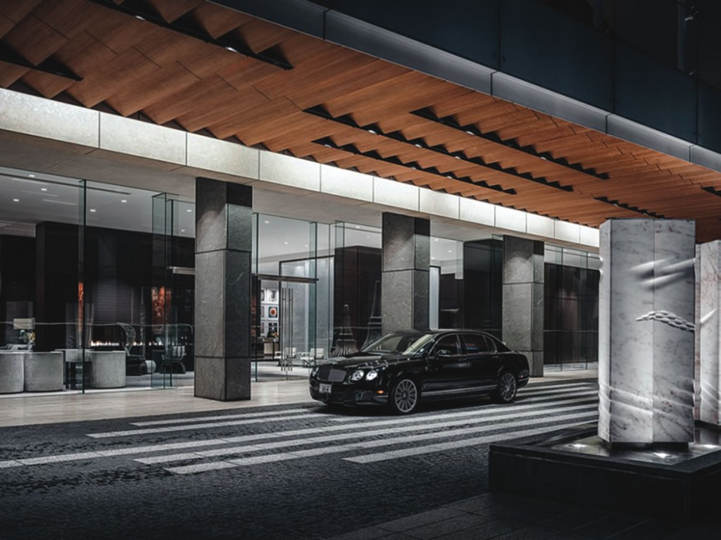 Complimentary house car service in the hotel's  Bentley Flying Spur is available for guest  excursions within a 2-mile range.