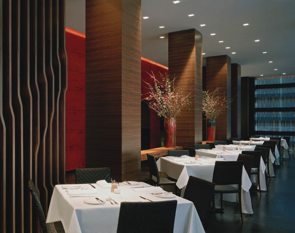 Ame is known for its fresh, seasonal cuisine.