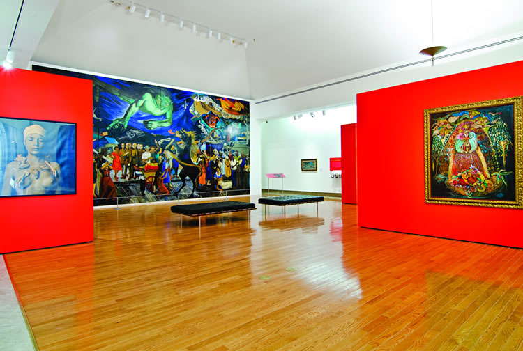 An exhibit at the Museum of Art of Puerto Rico, which features artwork from the 17th century to the present (Courtesy of Museo de Arte de Puerto Rico)