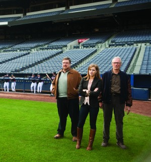 "Many scenes in ""Trouble with the Curve"" were filmed at Turner Field, the Atlanta Braves' stadium. 